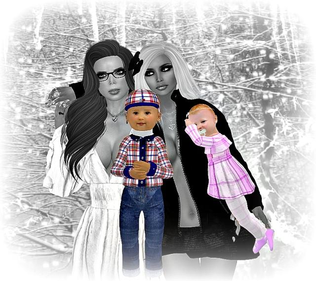 ali mom and babies