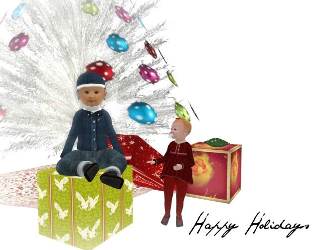 Happy Holidays kids