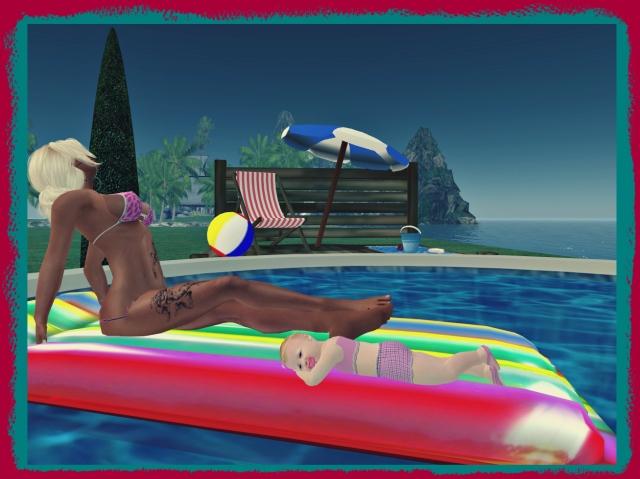 pool cuddle a